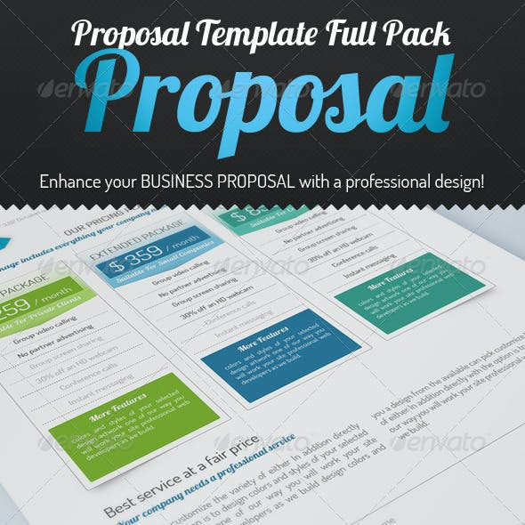 """LOBSTER"" - Proposal Template Full Pack"