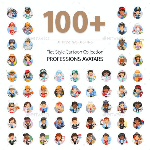100+ Professions Avatars