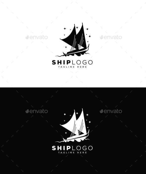 Ship Logo - Objects Logo Templates