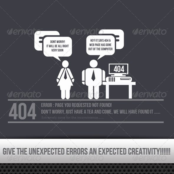 404 Creative Error Found !!!!