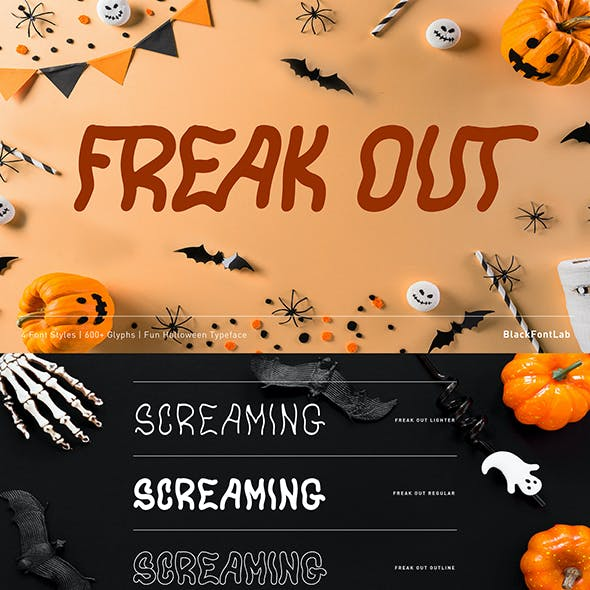 Freak Out Typeface