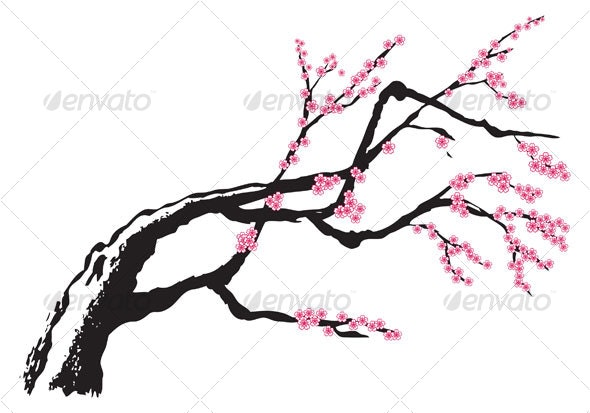 Cherry Blossom - Decorative Symbols Decorative
