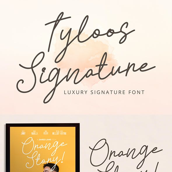 Tyloos Signature - Signature Font