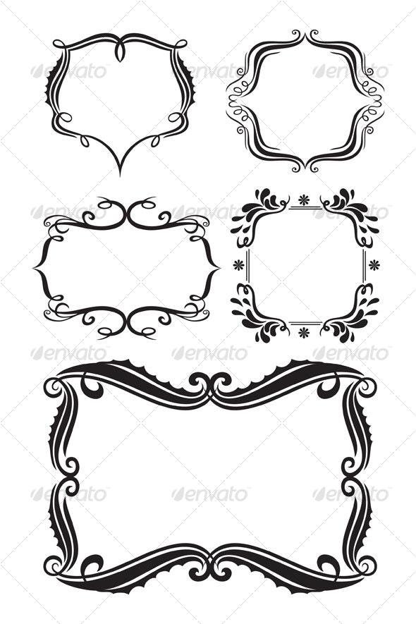 Frames design - Borders Decorative