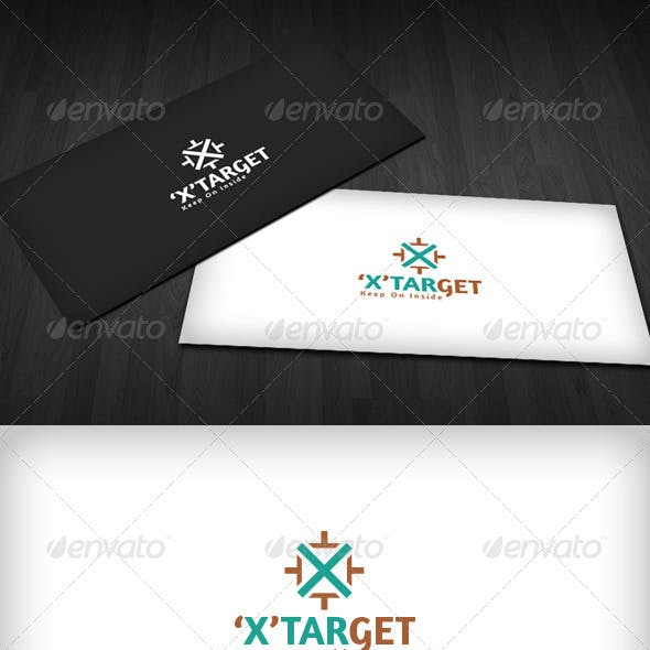 'X' Target Logo