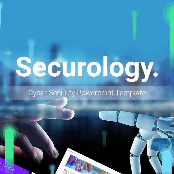 Securology – Cybersecurity Powerpoint Presentation Template Fully Animated