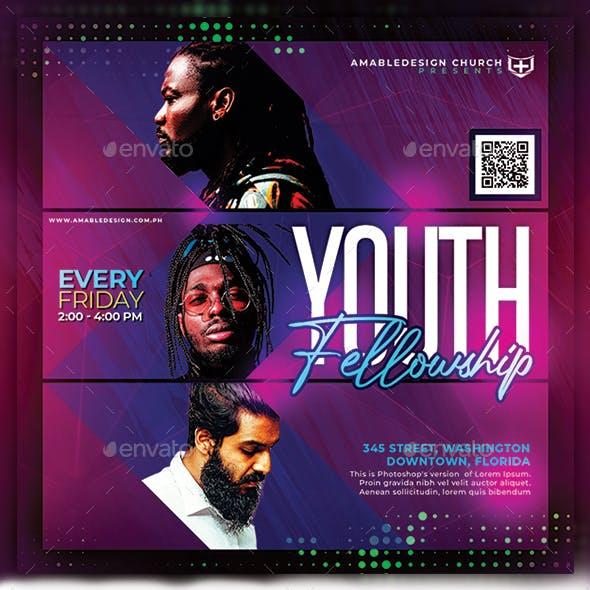 Youth Fellowship Church Flyer/Poster