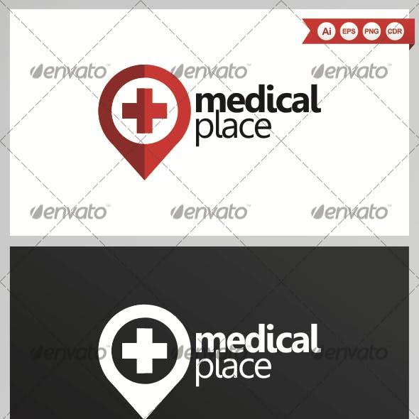 Medical Place Logo Design