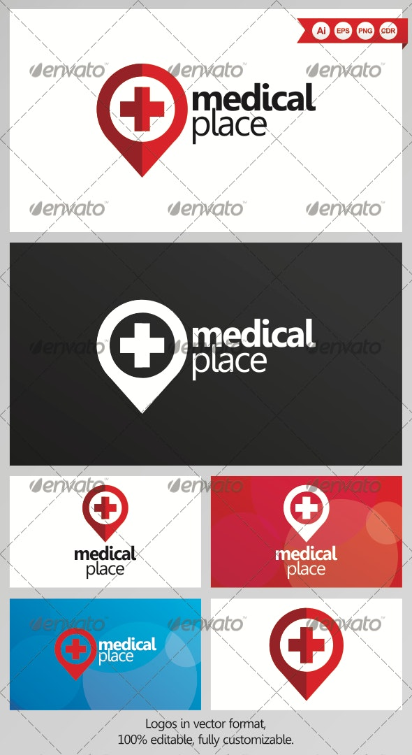 Medical Place Logo Design - Objects Logo Templates