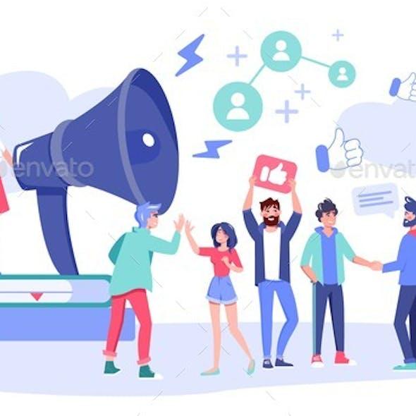 Influencer Digital Marketing Follower Attraction