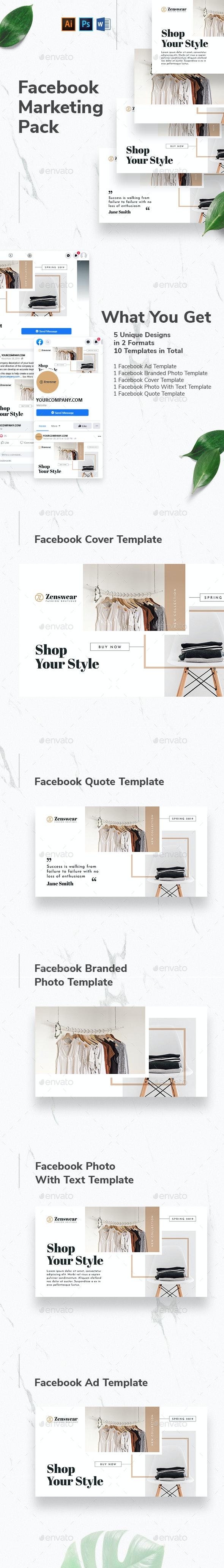 Boutique Facebook Marketing Materials - Facebook Timeline Covers Social Media