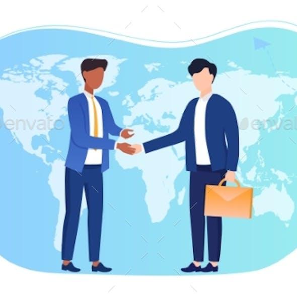 International Agreement Concept.