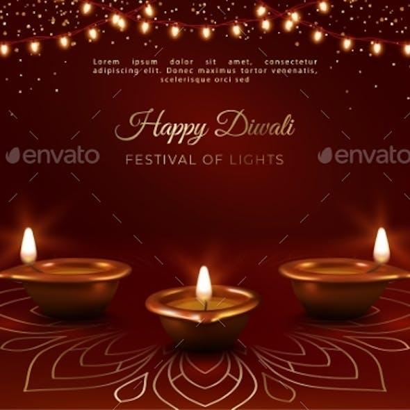 Diwali Festival Banner