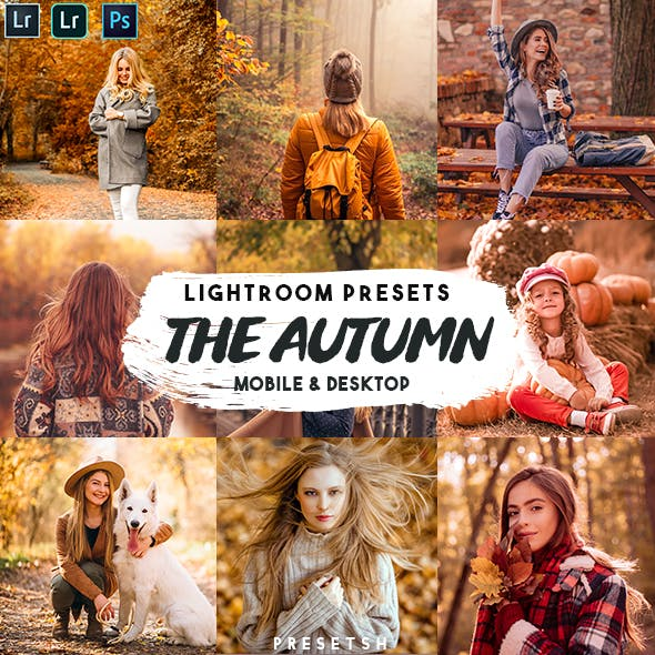 The Autumn Lightroom Presets