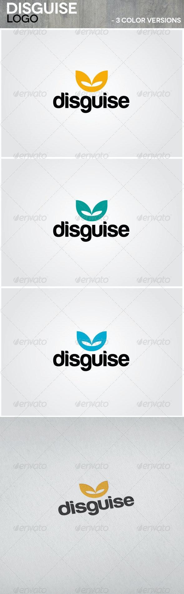 Disguise Logo - Vector Abstract