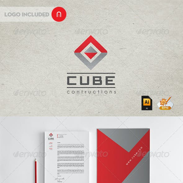 Stationary & Identity - Cube contructions