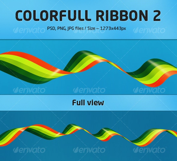 Colorfull Ribbon 2 - Backgrounds Graphics