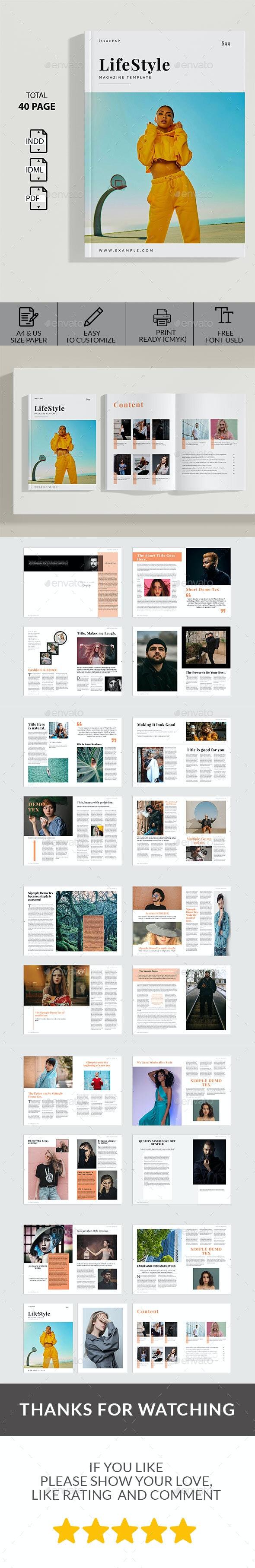 Life Style Magazine - Magazines Print Templates