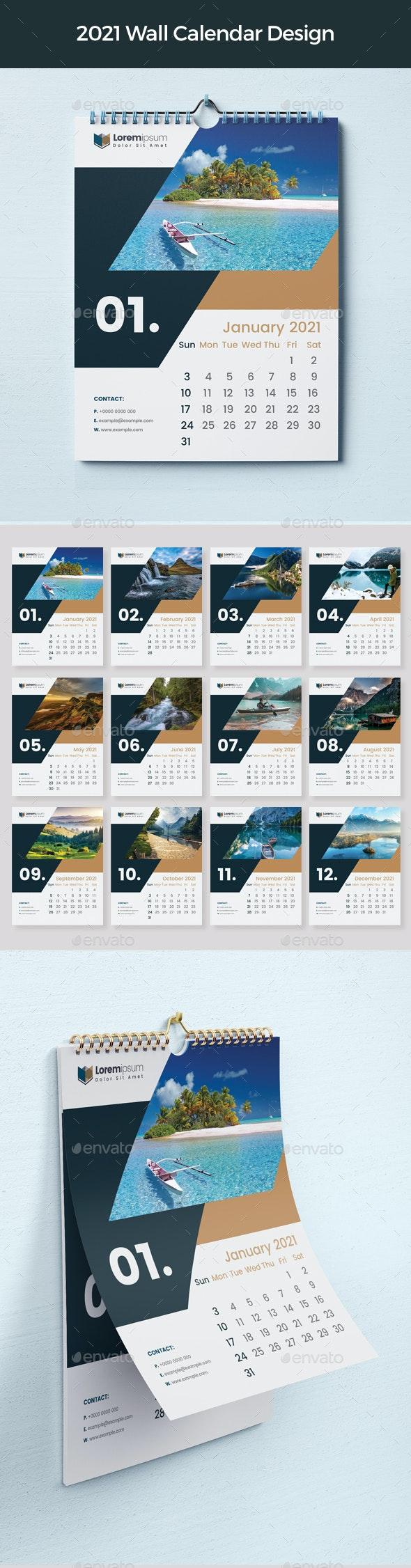 Calendar 2021 - Calendars Stationery