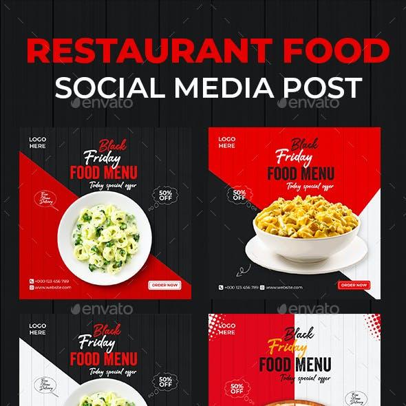 Social Media Food Menu Template