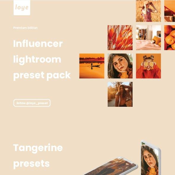Lightroom Presets - Tangerine - by LOYE preset