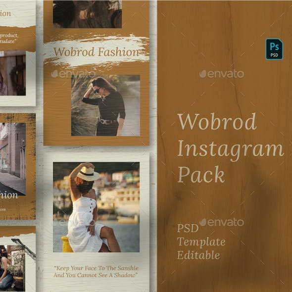Wobrod Story & Feed Instagram Template
