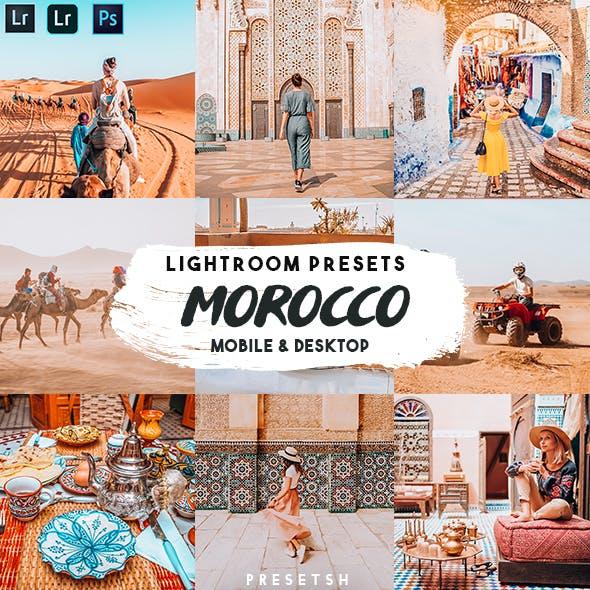 Morocco Lightroom Presets