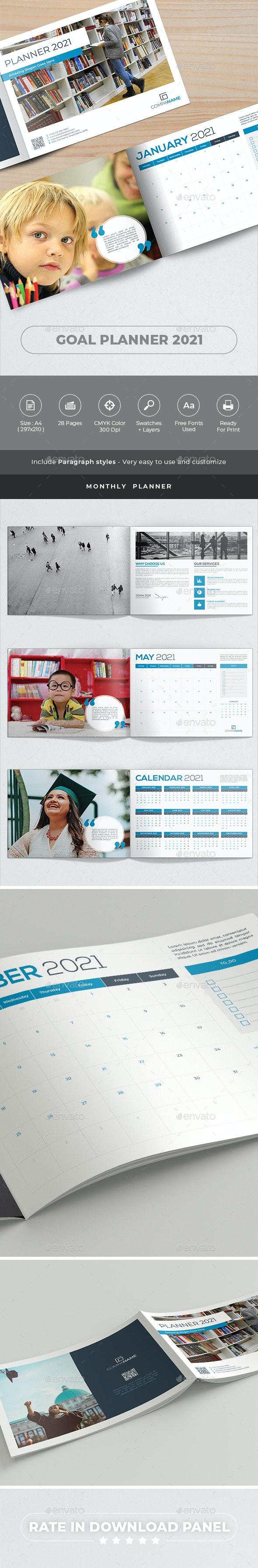 Goal Planner 2021 - Catalogs Brochures