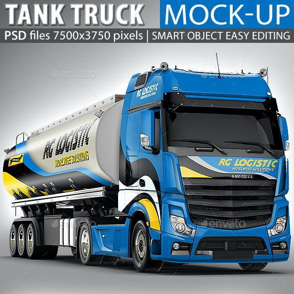 Tank Truck Mock-up