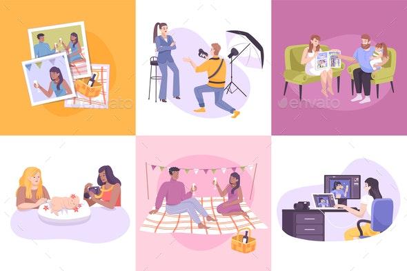 Photography Composition Set - Miscellaneous Vectors