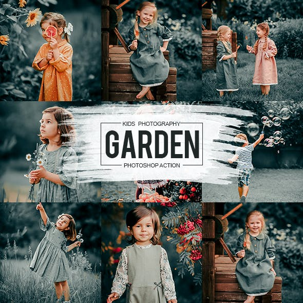 Garden Photoshop Action