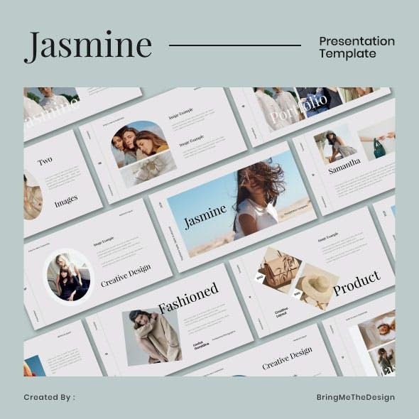 Jasmine Fashion Google Slides Pptx