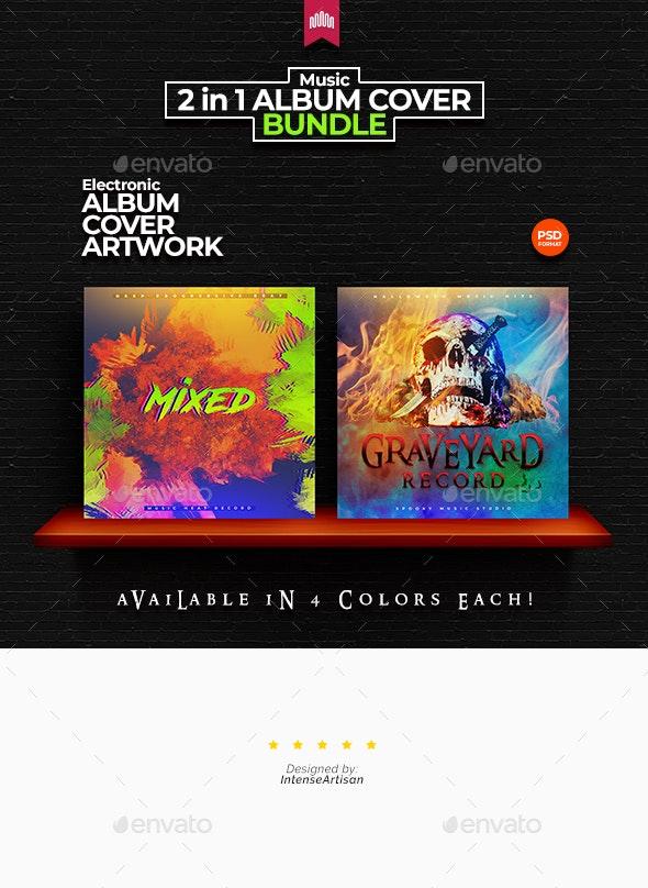 2in1 Music Album Cover - Bundle 22 - Miscellaneous Social Media