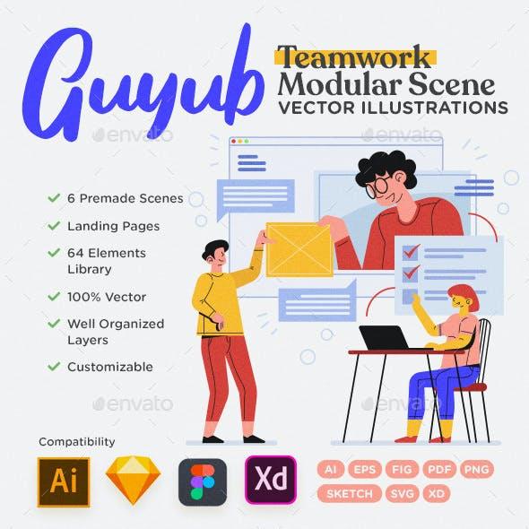 Guyub - Teamwork Modular Scene