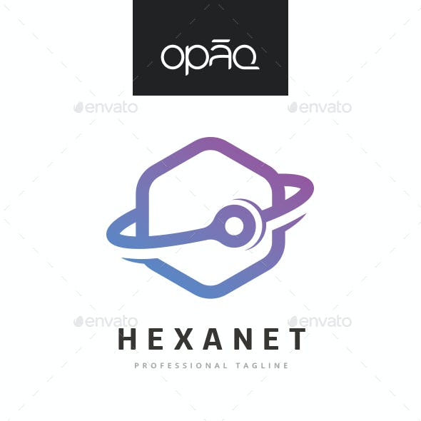 Hexagonal 360 Degrees Technologies Logo