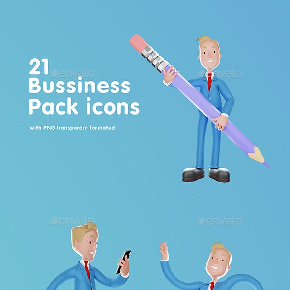 Bussiness Icons Pack