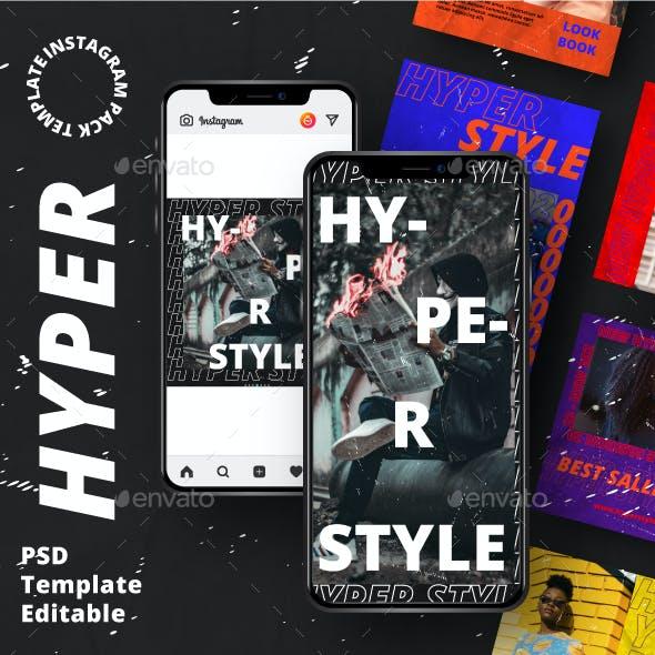 Hyper Story & Feed Instagram Template