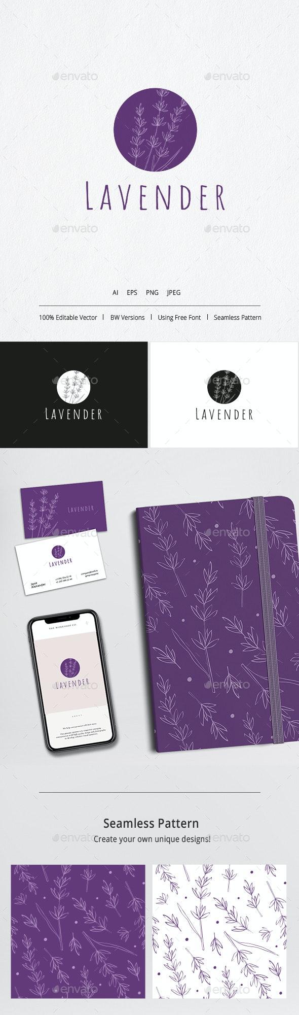 Logo Lavender - Logo Templates