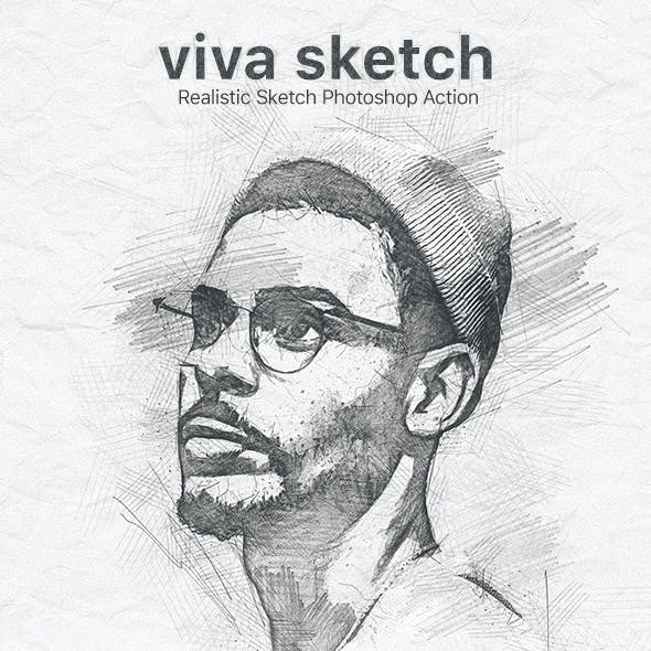 Viva Sketch Photoshop Action
