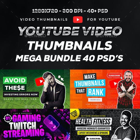 Youtube Thumbnail Mega Bundle