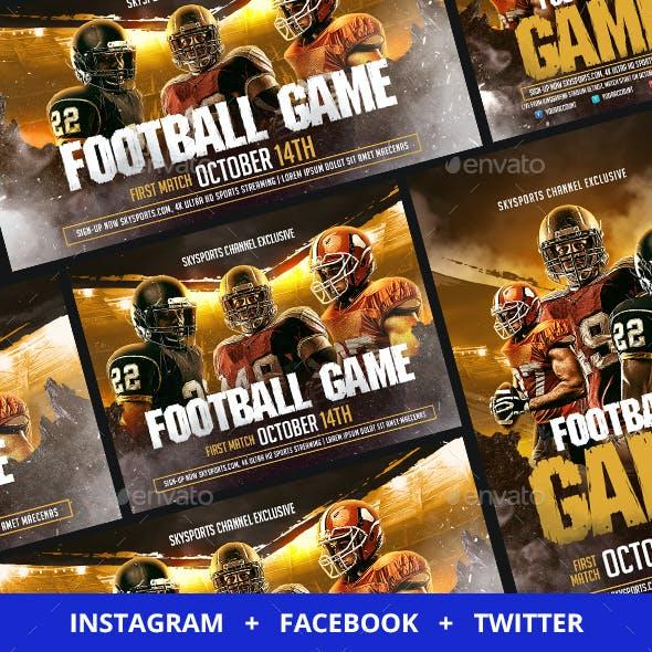 Football Social Media Templates