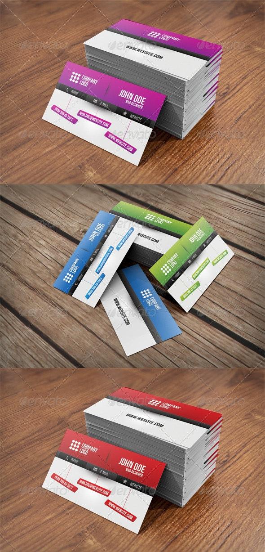 Web Designer Business Card - Business Cards Print Templates
