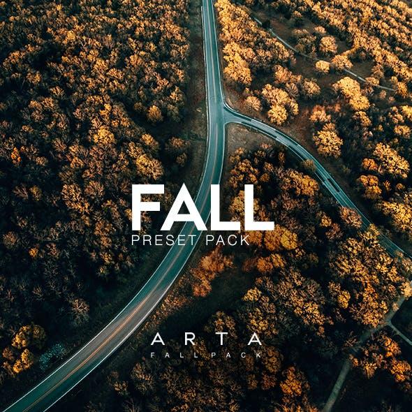 ARTA Fall Pack For Mobile and Desktop Lightroom