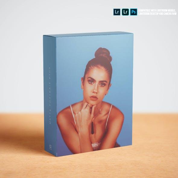 Matte Portrait Lightroom Presets for Mobile and Desktop