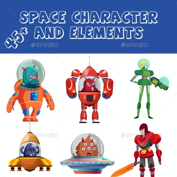 Space Character And Space Elements