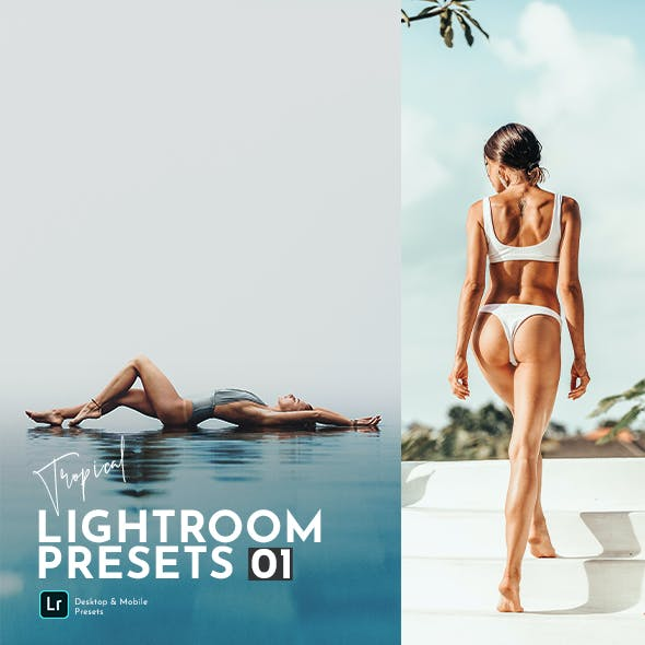 Tropical Lightroom Presets Pack