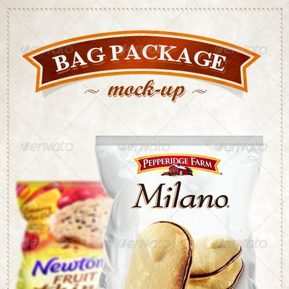 Bag Pack Package Foil Mock - Up