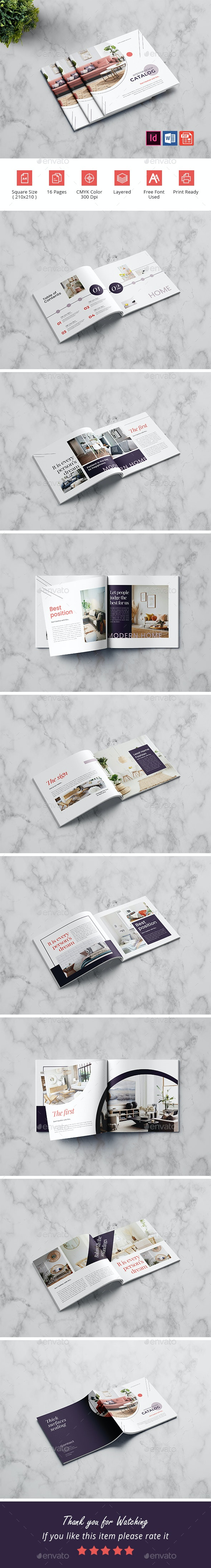 Interior Book Design - Catalogs Brochures