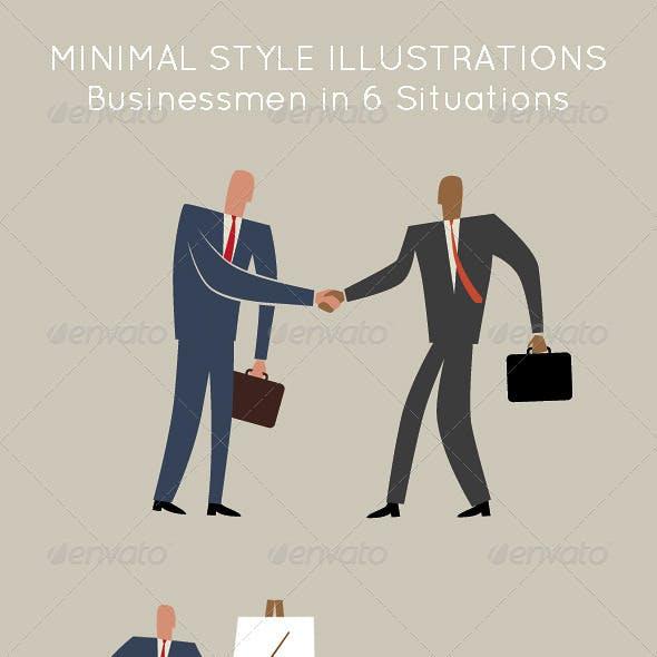 Business Men; Social, Office, Travel & Meeting