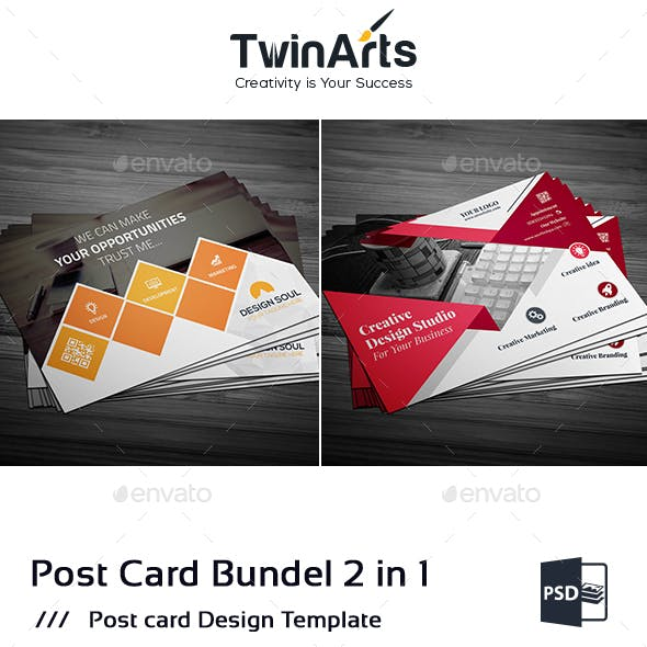 Post Card Bundle_2 in 1
